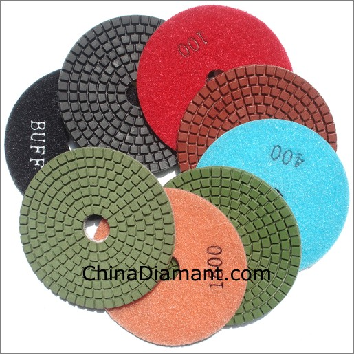 Diamond Wet Polishing Pads